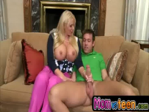 MILF Karen Fisher takes charge