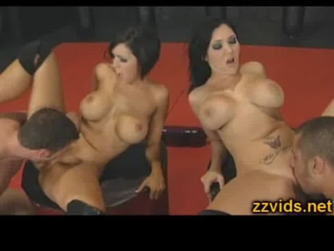 Claire Dames and Dylan Ryder hot foursome fucking